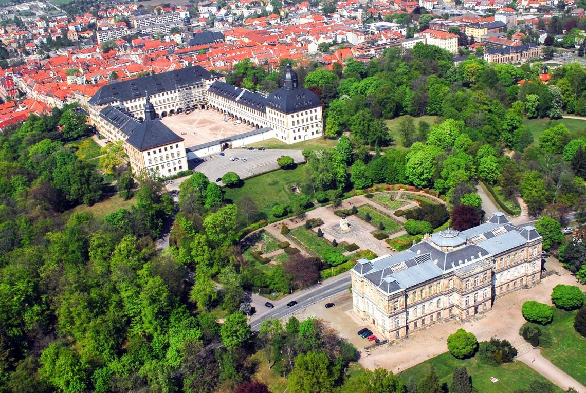 Thành phố nhỏ, cổ xưa Gotha ở miền Trung nước Đức - 8
