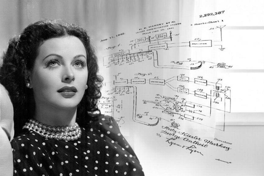 Hedy Lamarr, người đầu tiên phát minh công nghệ wifi - 7