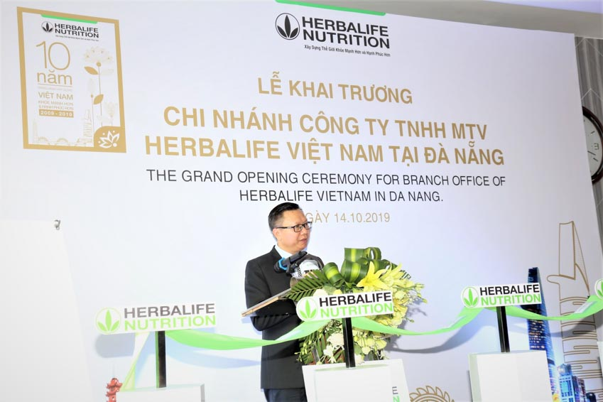 Herbalife Vietnam khai trương văn phòng tại Đà Nẵng - 1