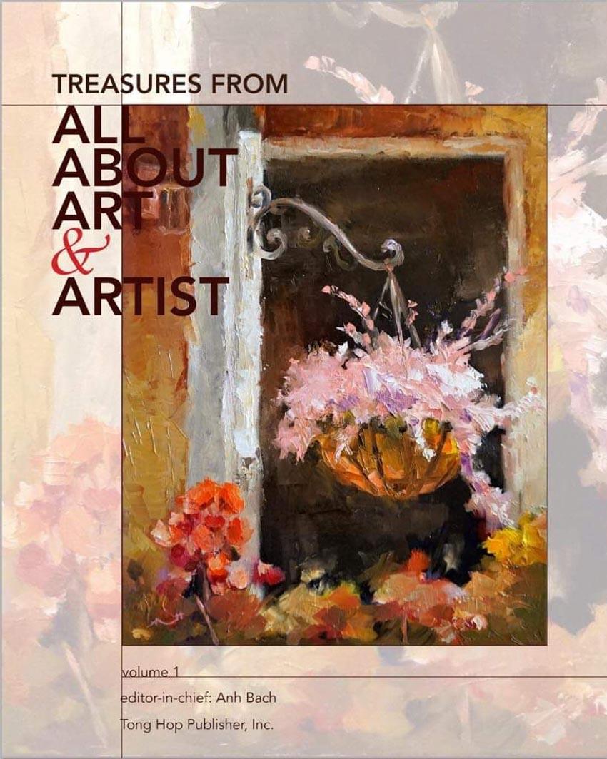 Họa sĩ Bạch Hoàng Anh và trang Facebook All About Art and Artist - 1