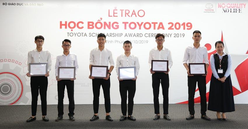 115 suất Học bổng Toyota 2019 được trao tặng cho các sinh viên Việt Nam - 3