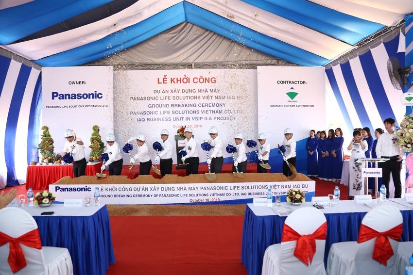 Khởi công xây dựng nhà máy Panasonic Life Solutions Việt Nam thứ hai tại Bình Dương - 3