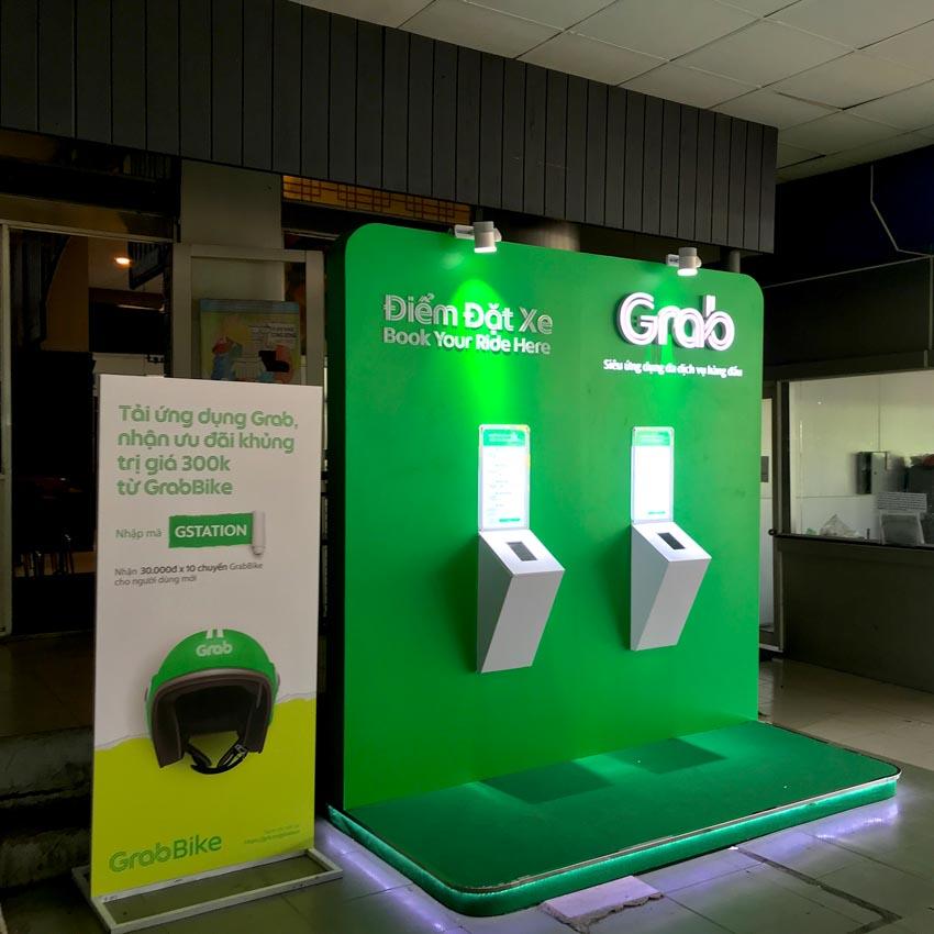 Grab triển khai thử nghiệm khu vực đón trả hành khách GrabBike tại Bến xe Miền Đông - 1
