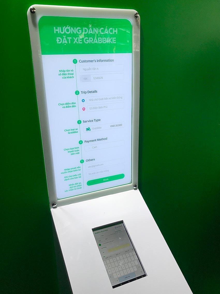 Grab triển khai thử nghiệm khu vực đón trả hành khách GrabBike tại Bến xe Miền Đông - 2