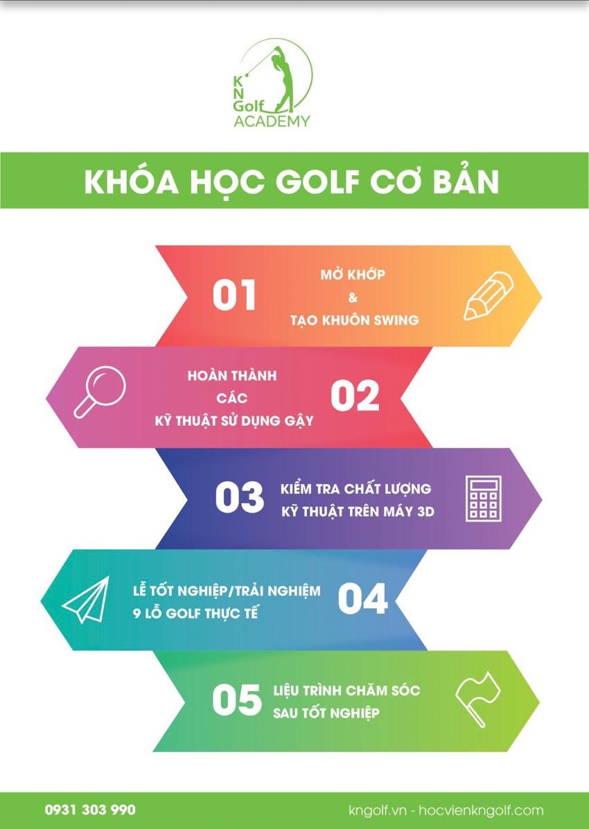 KN Golf Academy dạy golf miễn phí - 1