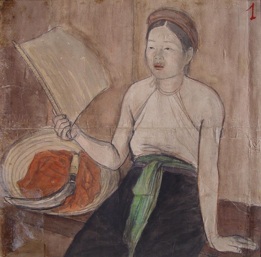 Ký họa Nguyễn Phan Chánh - 4