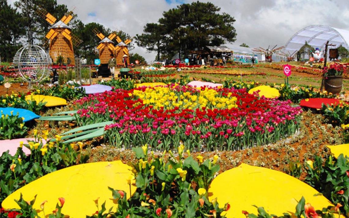 Lễ hội hoa Đà Lạt 2019: Nhiều loài hoa mới sẽ tô điểm mặt hồ Xuân Hương - 2