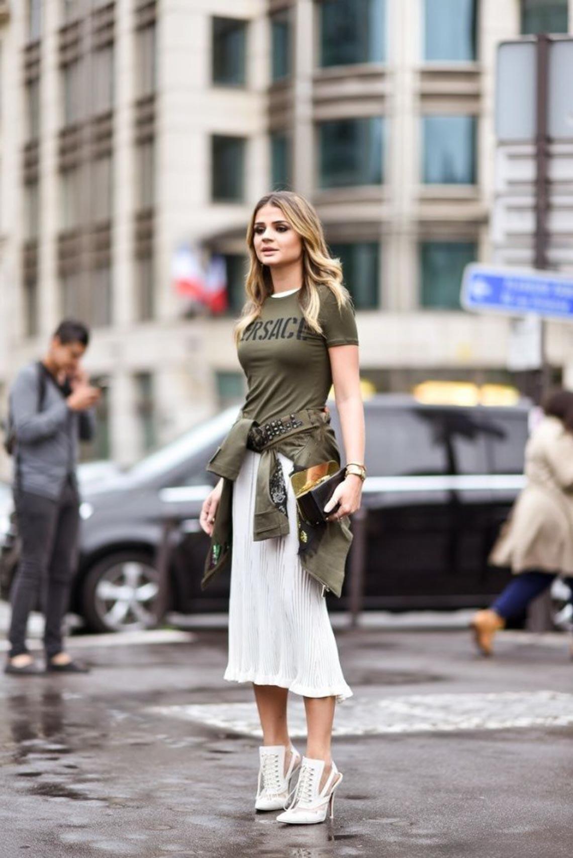 Mix & match phong cách thời trang quân đội cho quý cô - 2