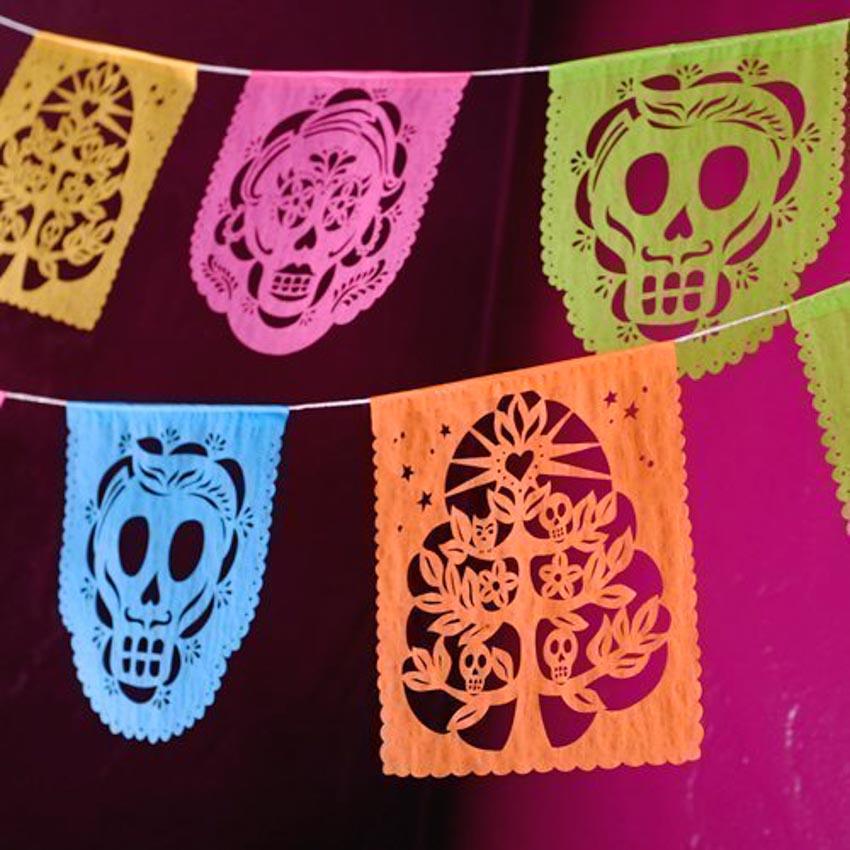 Nghệ phẩm chạm khắc giấy Mexico - 10