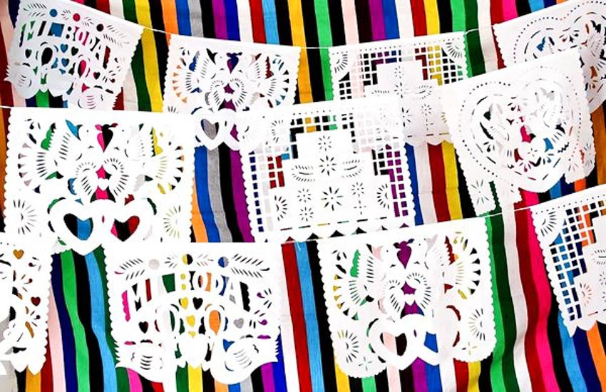 Nghệ phẩm chạm khắc giấy Mexico - 13