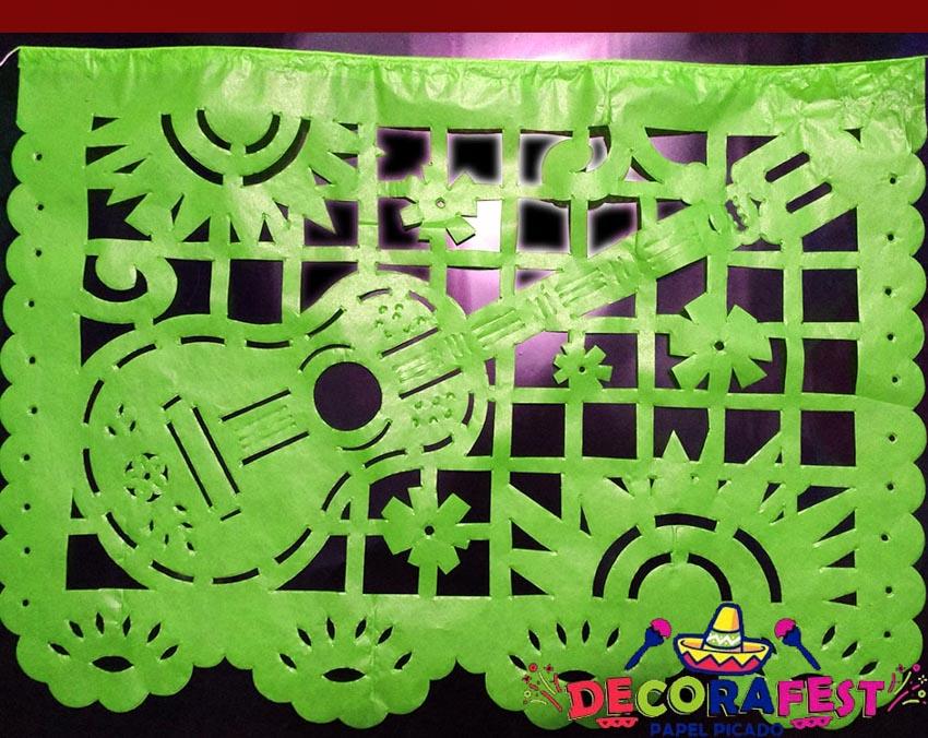 Nghệ phẩm chạm khắc giấy Mexico - 15