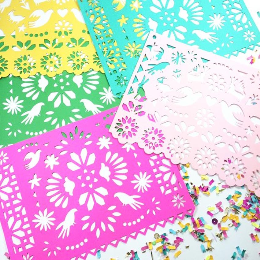Nghệ phẩm chạm khắc giấy Mexico - 17