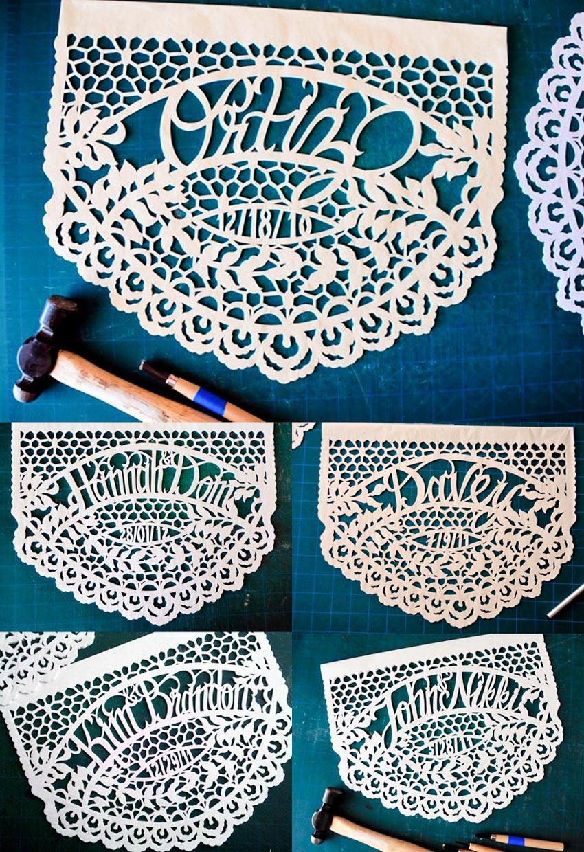 Nghệ phẩm chạm khắc giấy Mexico - 19