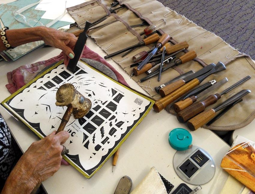 Nghệ phẩm chạm khắc giấy Mexico - 22