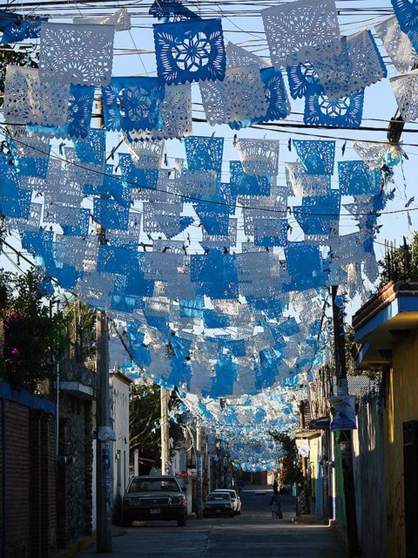 Nghệ phẩm chạm khắc giấy Mexico - 7