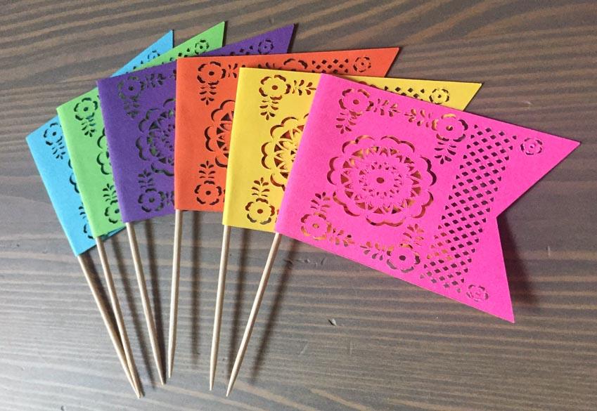 Nghệ phẩm chạm khắc giấy Mexico - 8