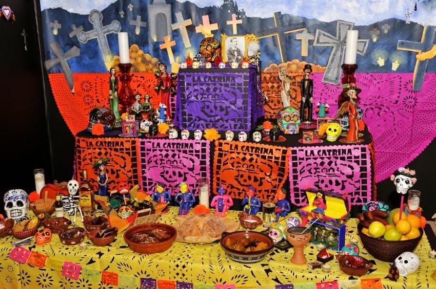 Nghệ phẩm chạm khắc giấy Mexico - 9
