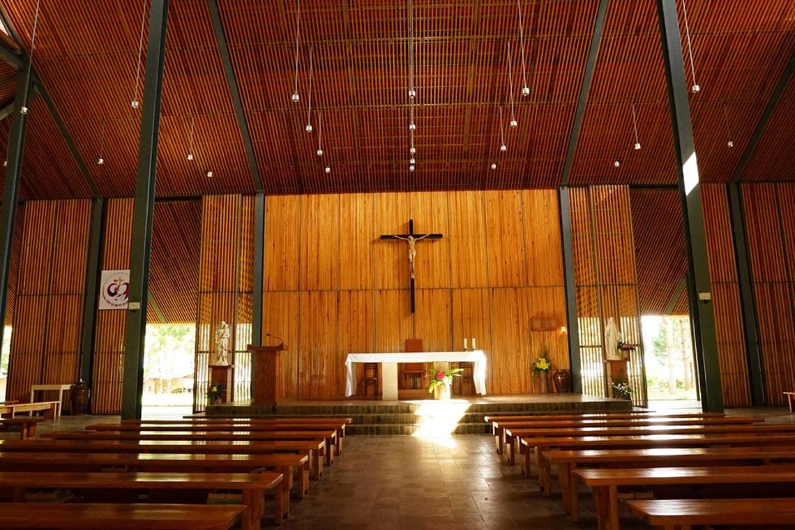 Nhà thờ Ka Đơn - linh hồn Churu giữa rừng Lâm Viên - 1