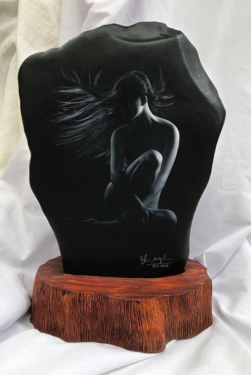 Nhiếp ảnh gia Thái Phiên triển lãm ảnh khỏa thân trên đá - 10