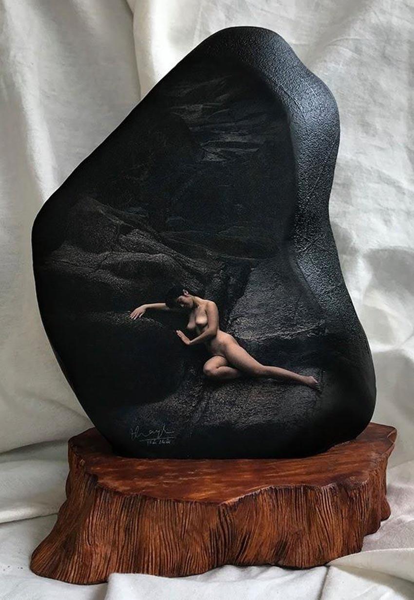 Nhiếp ảnh gia Thái Phiên triển lãm ảnh khỏa thân trên đá - 2