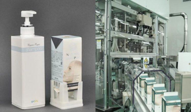 Nippon Paper Group thiết kế hộp đựng bằng giấy giữ được chất lỏng - 1