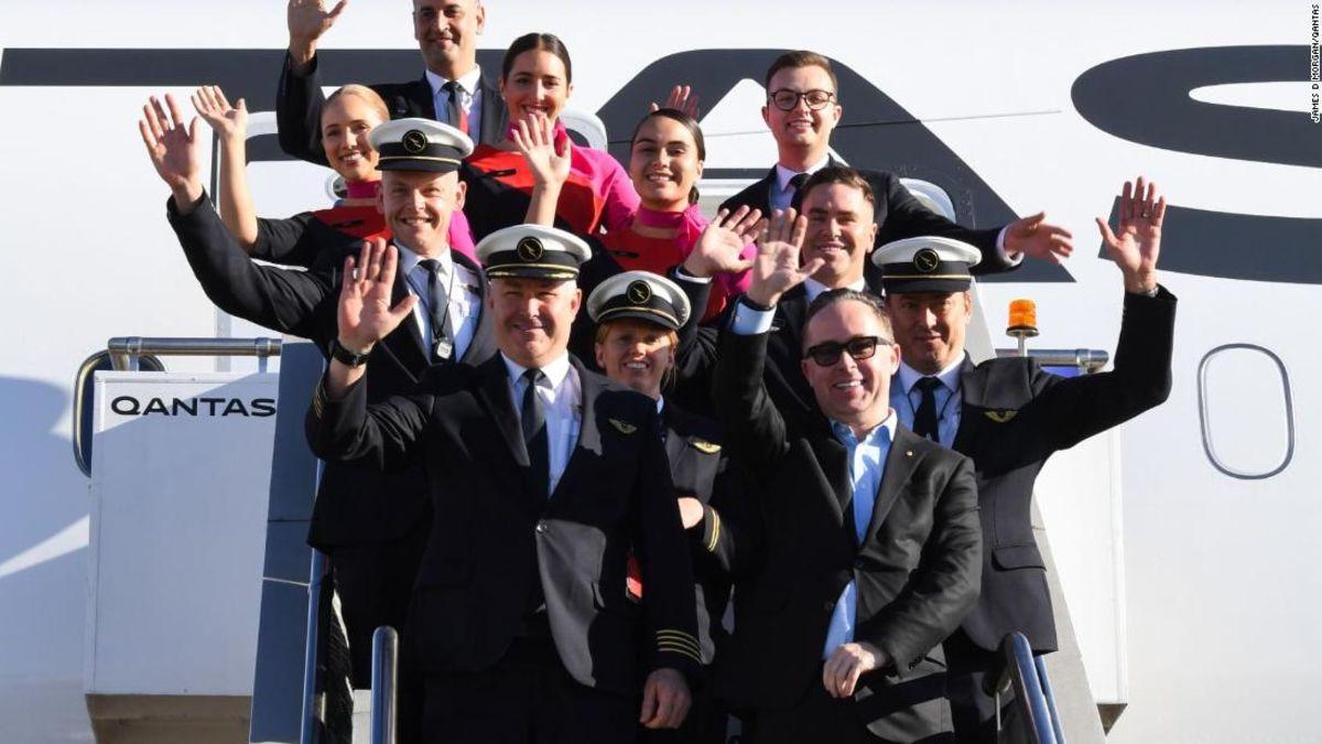 Qantas hoàn tất chuyến bay thẳng dài nhất thế giới - 4