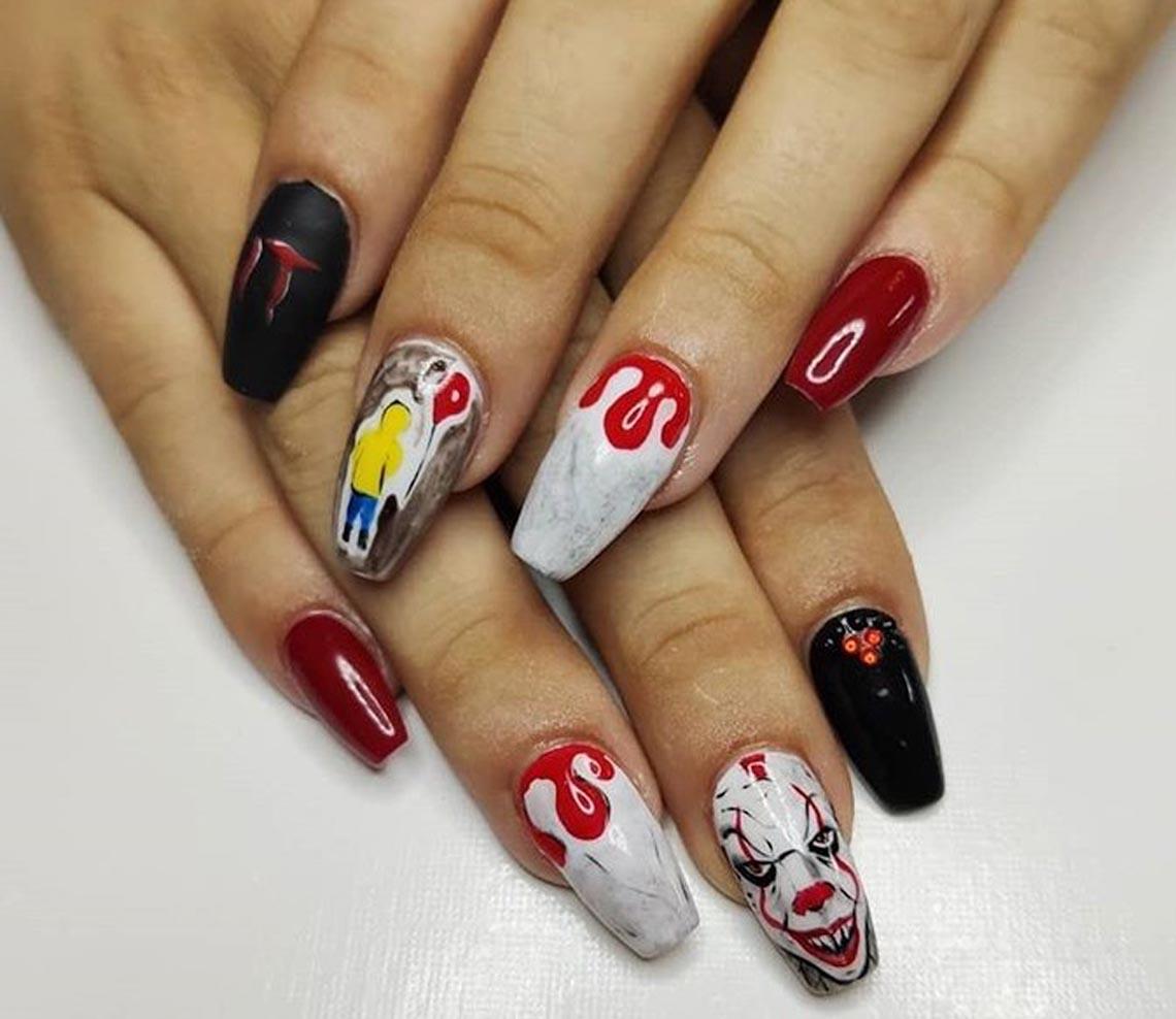 23 ý tưởng trang trí móng tay cho đêm tiệc Halloween - 11