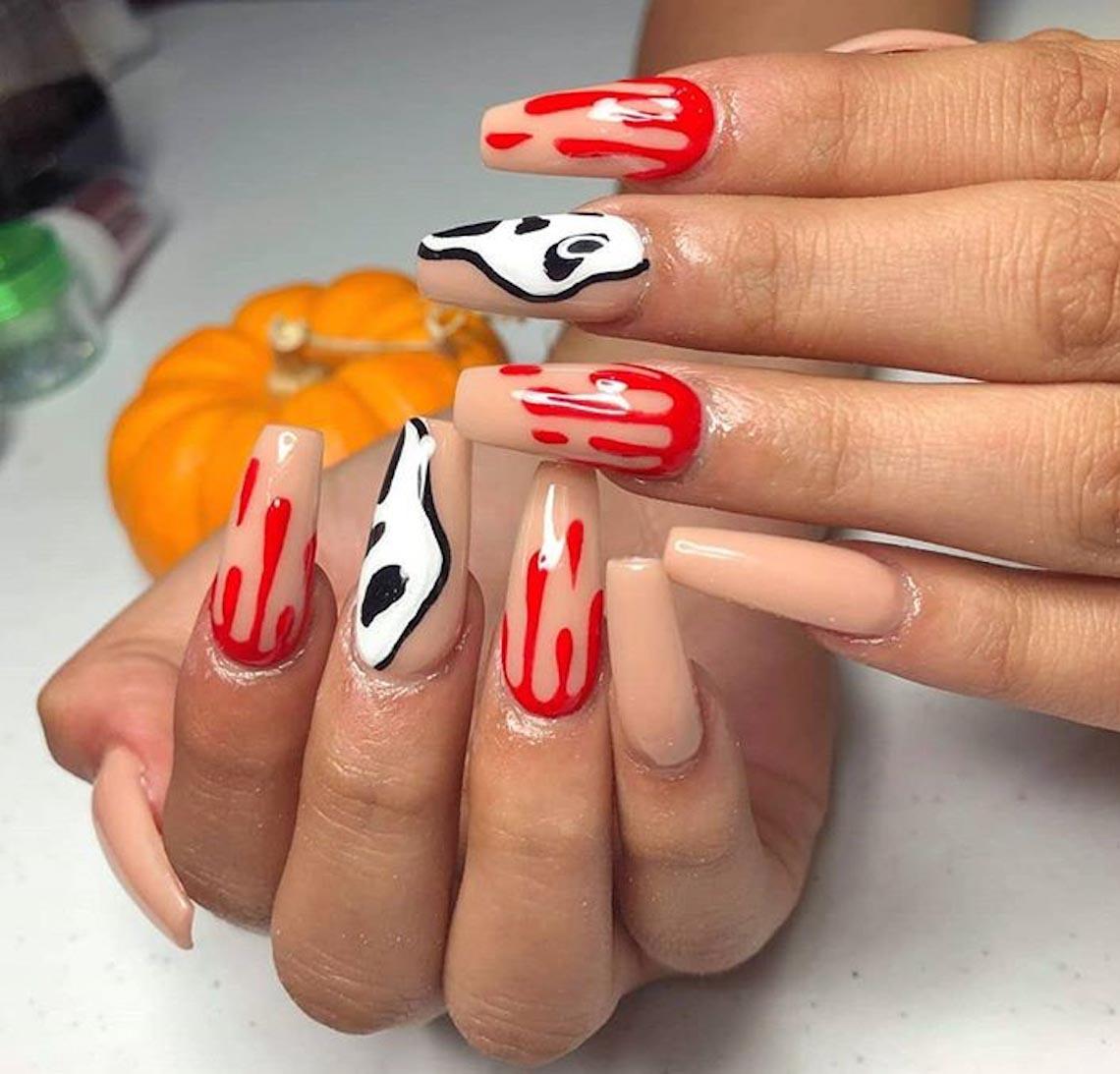 23 ý tưởng trang trí móng tay cho đêm tiệc Halloween - 18