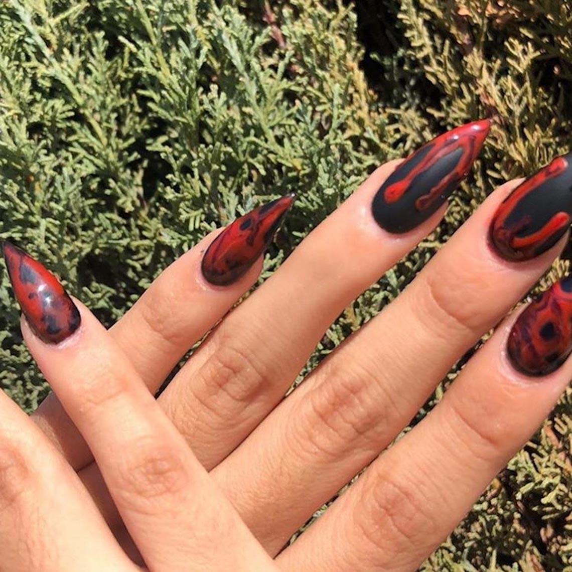 23 ý tưởng trang trí móng tay cho đêm tiệc Halloween - 19