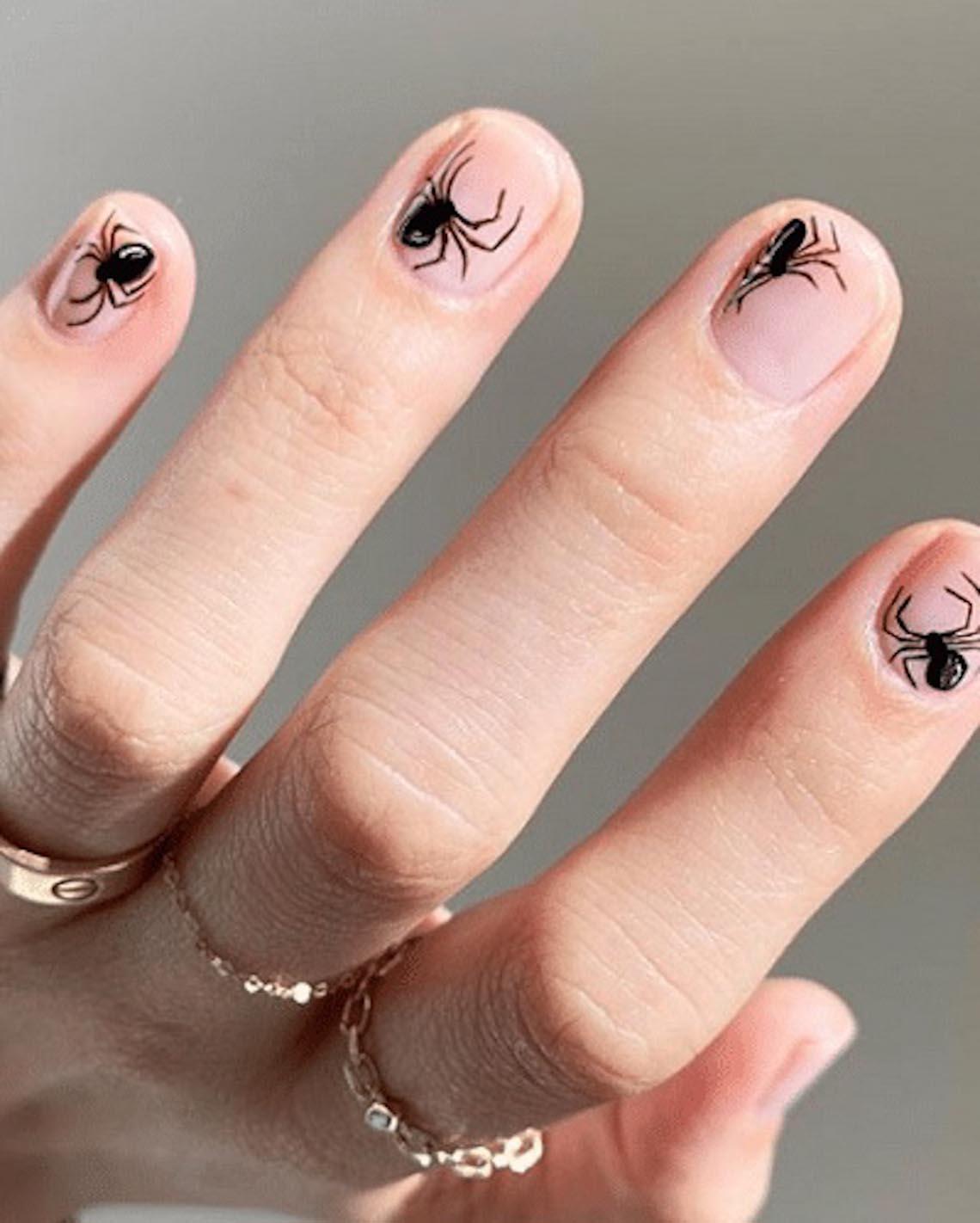 23 ý tưởng trang trí móng tay cho đêm tiệc Halloween - 4