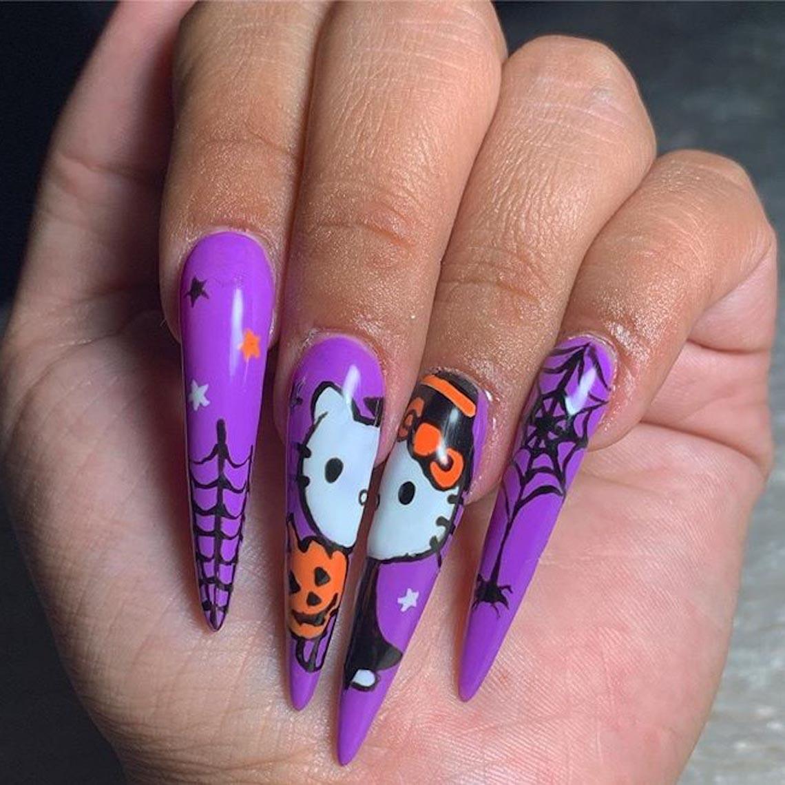 23 ý tưởng trang trí móng tay cho đêm tiệc Halloween - 6