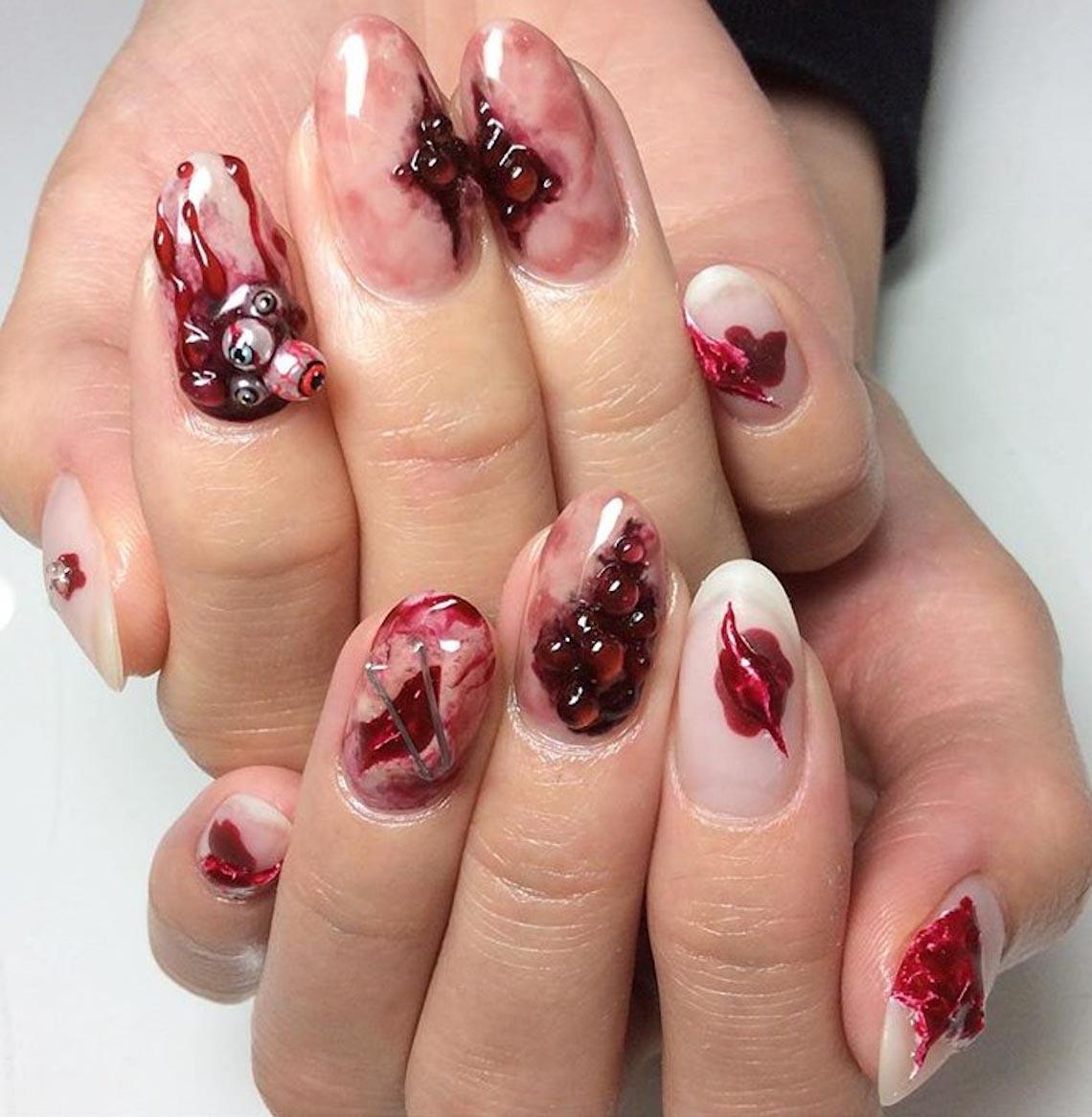 23 ý tưởng trang trí móng tay cho đêm tiệc Halloween - 8