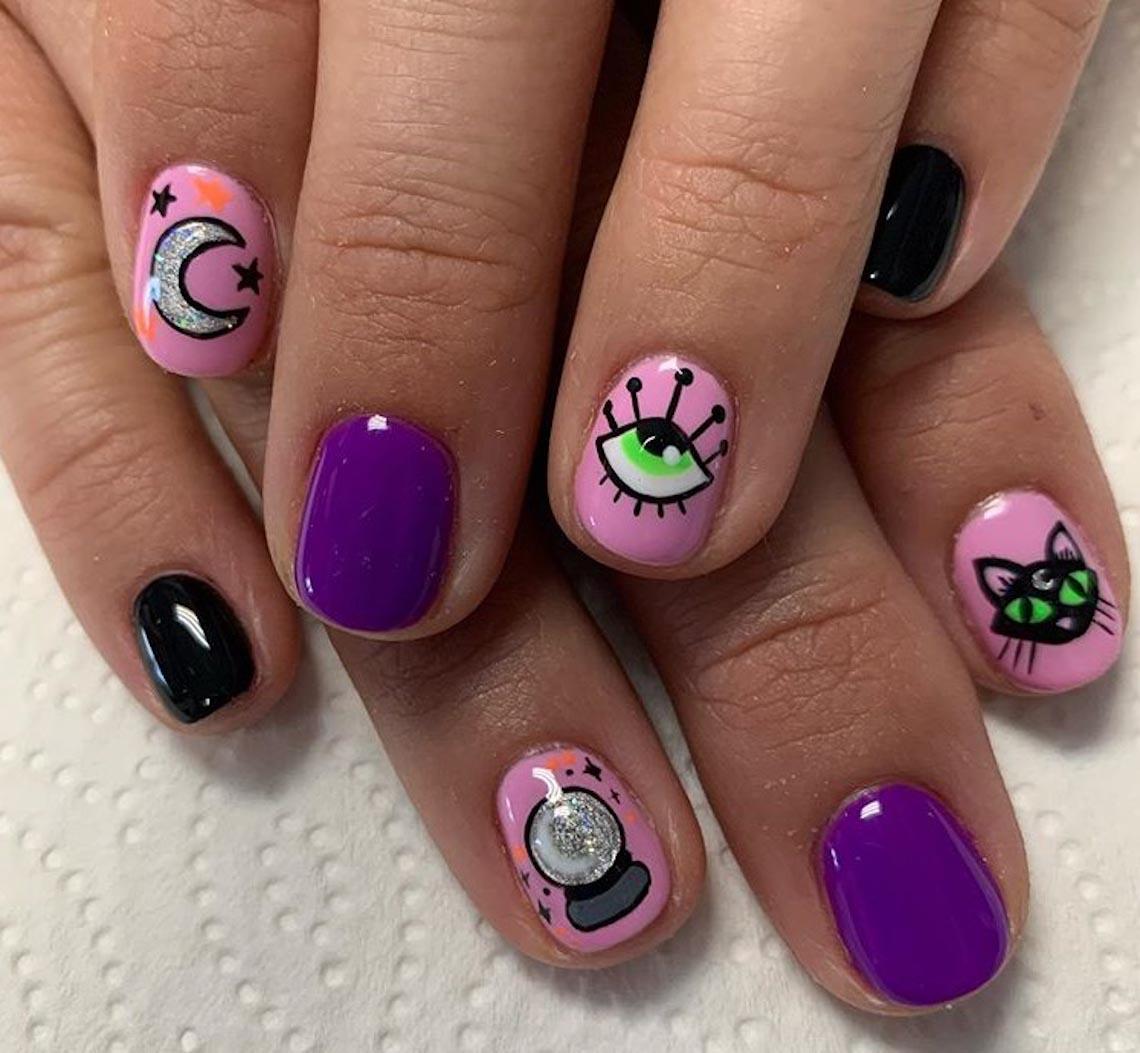 23 ý tưởng trang trí móng tay cho đêm tiệc Halloween - 9