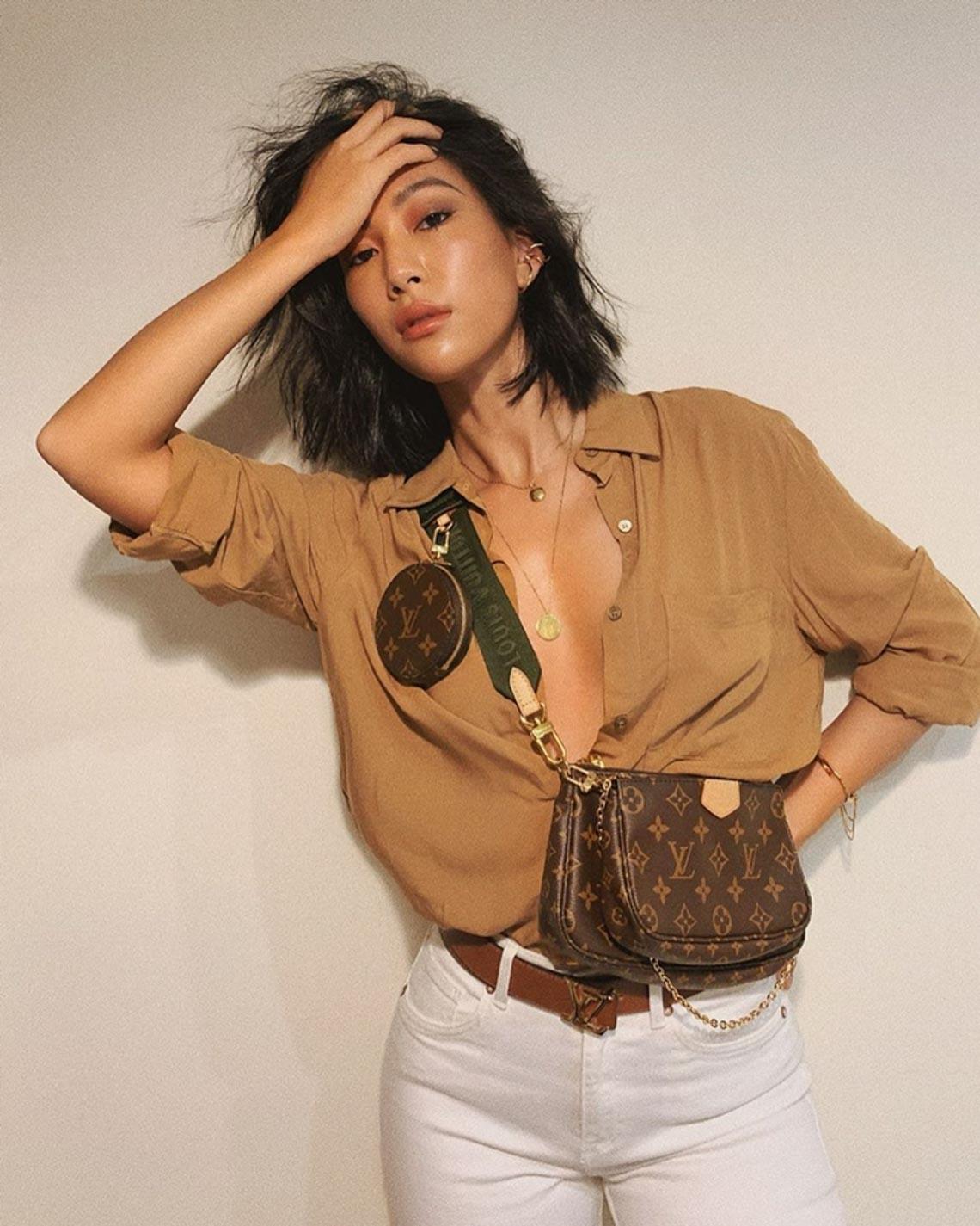 Multi Pochette - mẫu túi biến tấu mới của nhà Louis Vuitton - 10