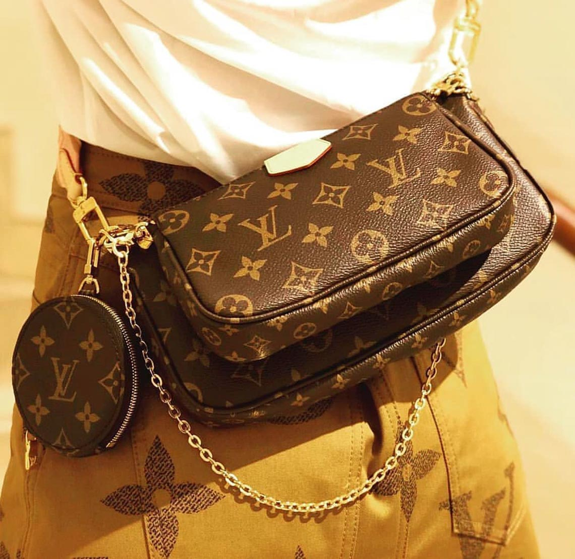 Multi Pochette - mẫu túi biến tấu mới của nhà Louis Vuitton - 5