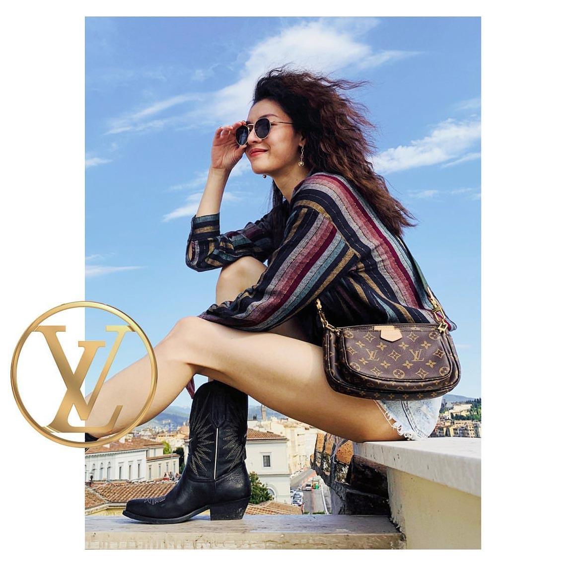 Multi Pochette - mẫu túi biến tấu mới của nhà Louis Vuitton - 6