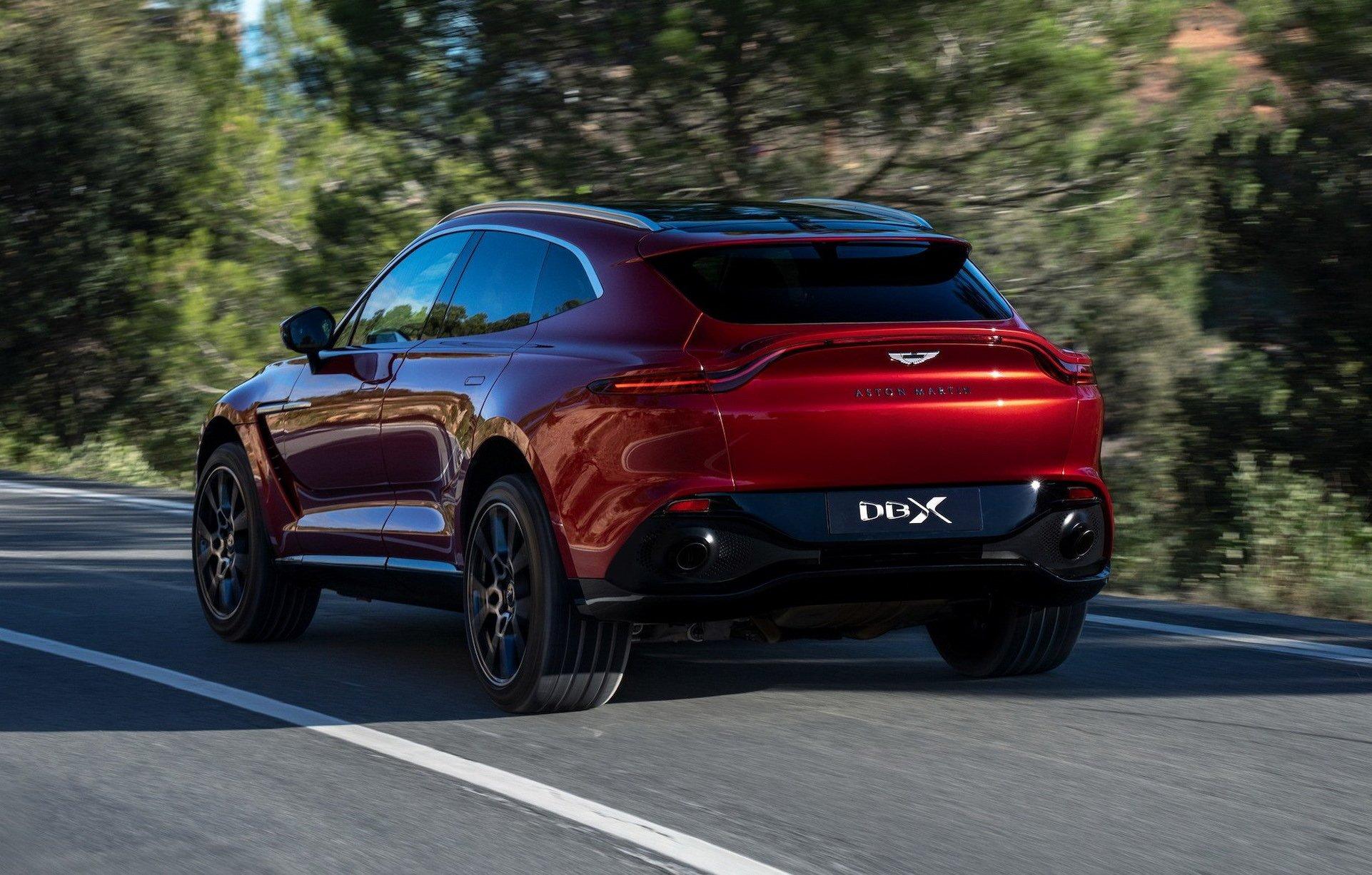Aston Martin DBX - SUV siêu sang đầu tiên dành 2ho các đại gia - 1
