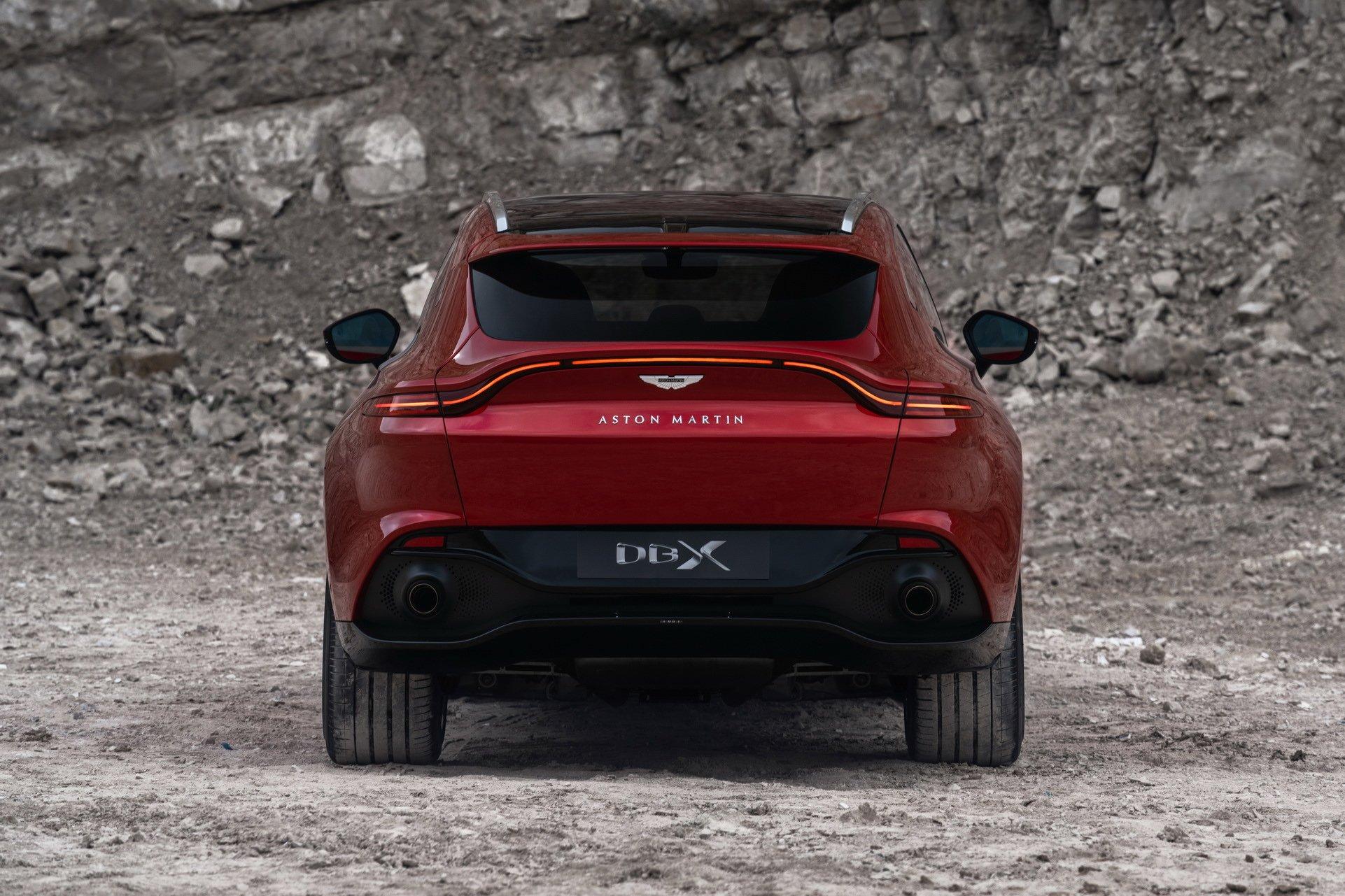 Aston Martin DBX - SUV siêu sang đầu tiên dành cho các đại gia - 19