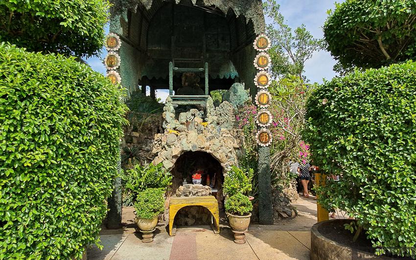 Di tích đạo Dừa - nơi ông Nguyễn Thành Nam ngồi giảng đạo