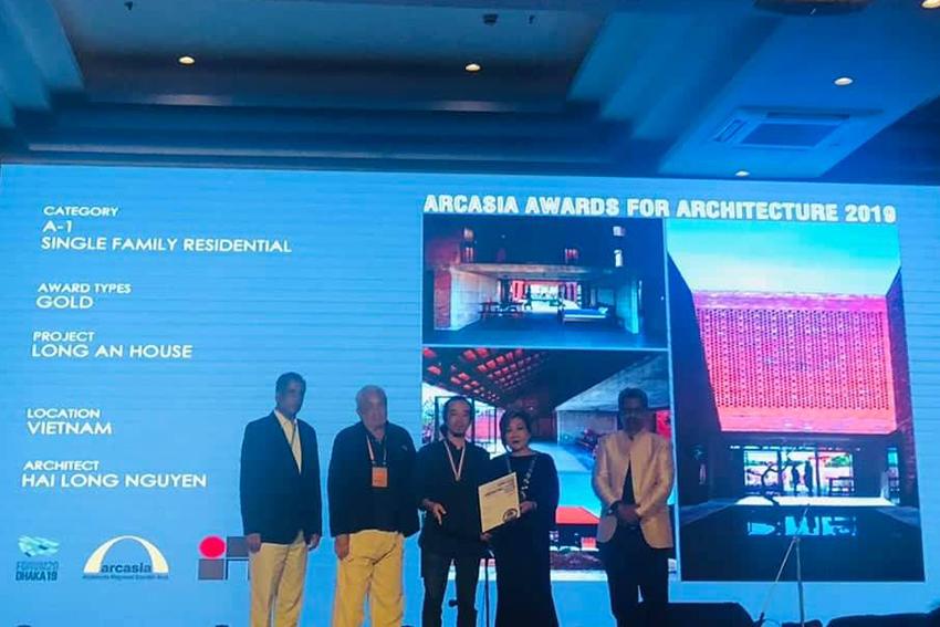 Công trình Long An House chiến thắng giải vàng Arcasia Awards for Architectures 19 - 4