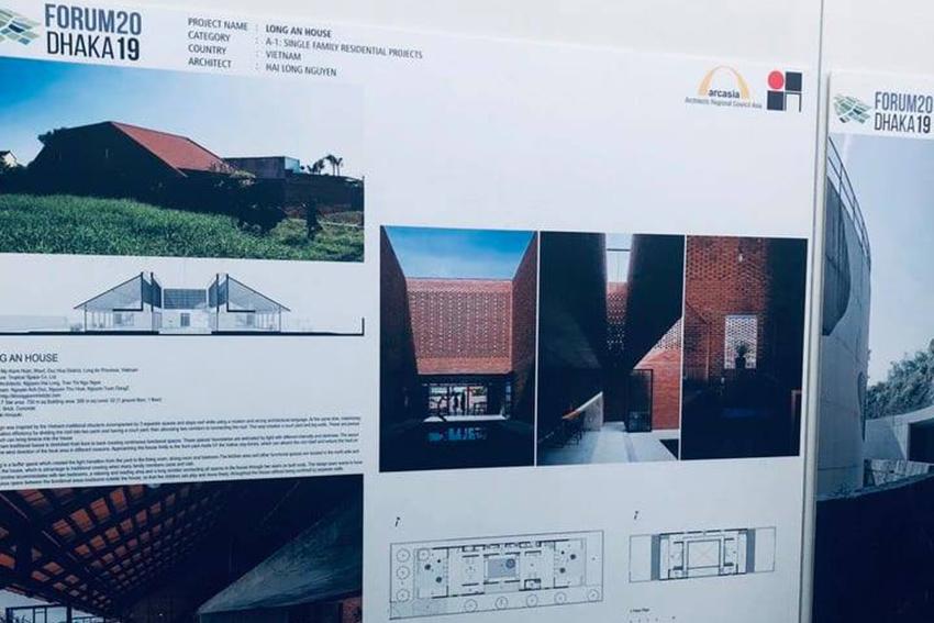 Công trình Long An House chiến thắng giải vàng Arcasia Awards for Architectures 19 - 1