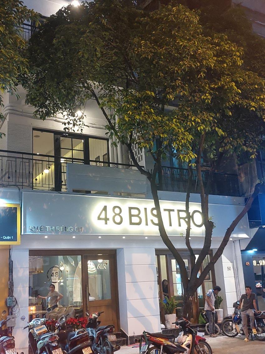 48 BISTRO Lê Thị Riêng chính thức trở lại phục vụ thực khách -1