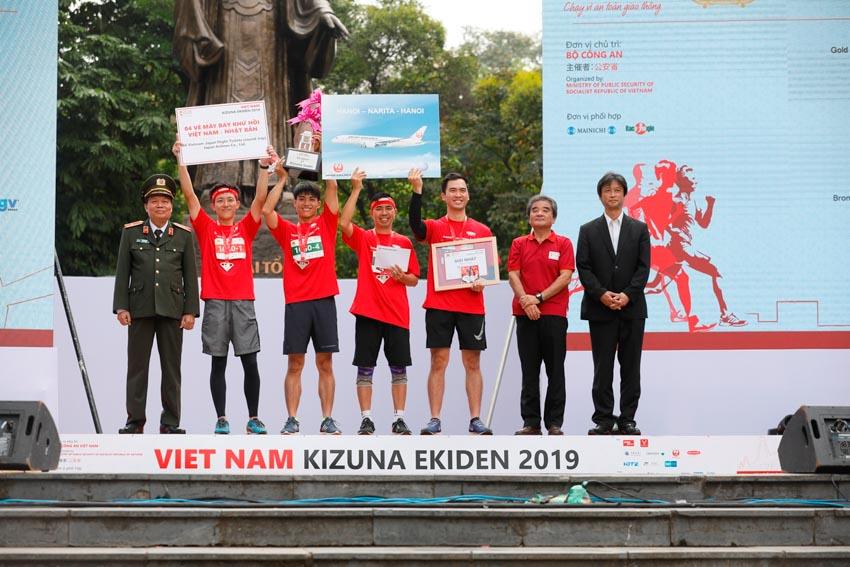 Dai-ichi Life tài trợ cho giải chạy tiếp sức Vietnam Kizuna Ekiden 2019 -2