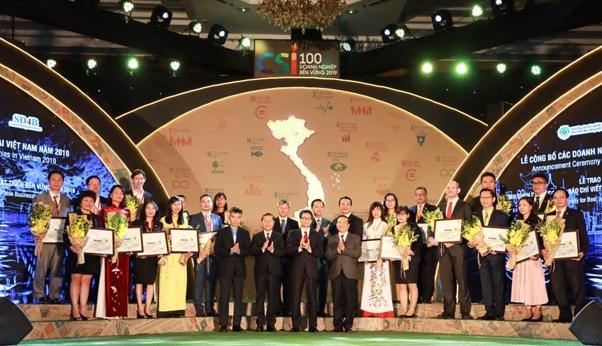 Nestlé Việt Nam nằm trong Top 10 Doanh nghiệp bền vững năm 2019 -2