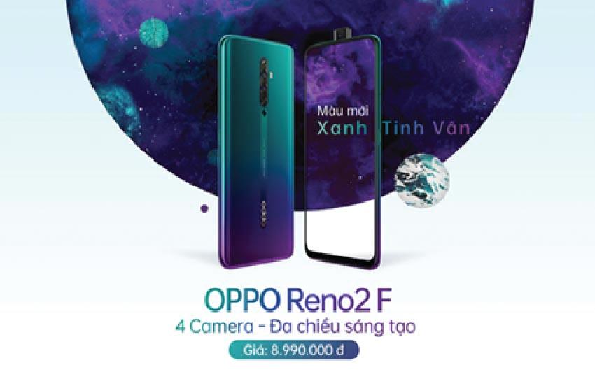 OPPO Reno2 F màu Xanh Tinh Vân ra mắt tại Việt Nam -5