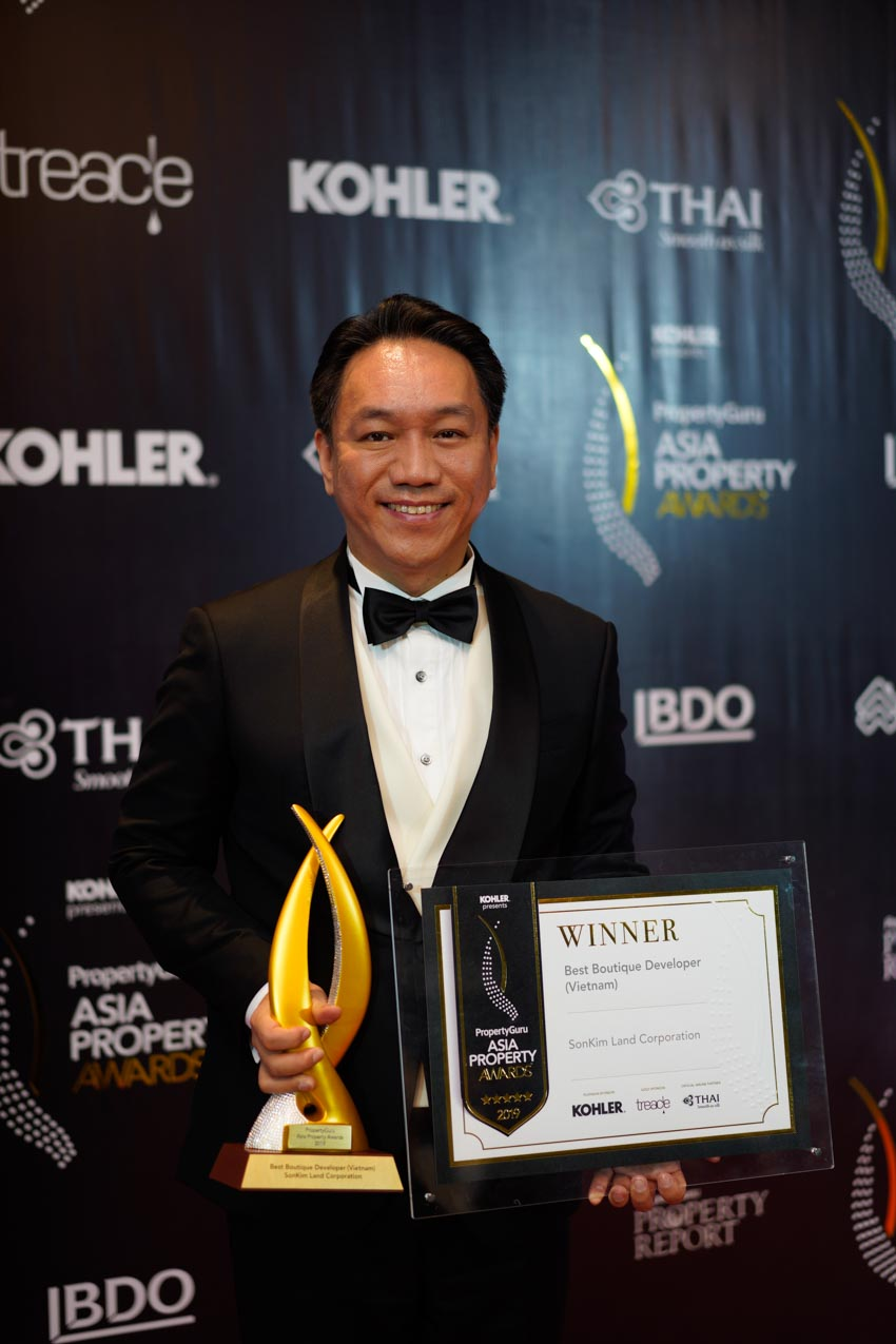 SonKim Land được vinh danh tại Giải thưởng Bất động sản châu Á 2019 -2