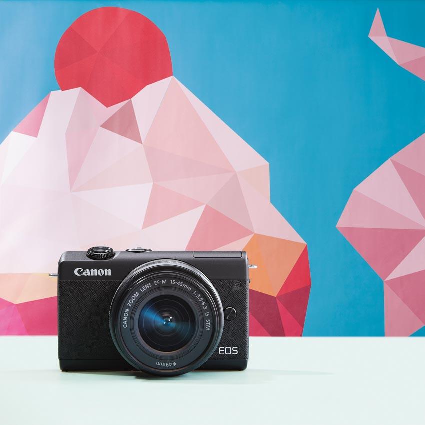 Canon trình làng máy ảnh dung ống kính chuyển đổi EOS M200 tại Việt Nam -1