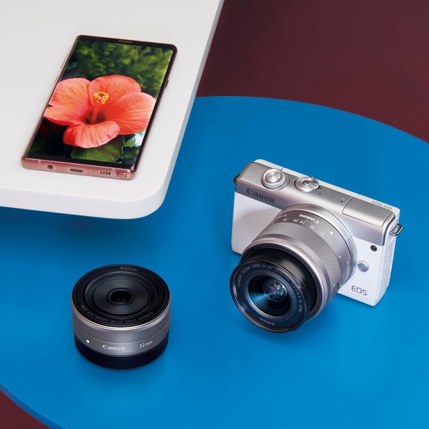 Canon trình làng máy ảnh dung ống kính chuyển đổi EOS M200 tại Việt Nam -3