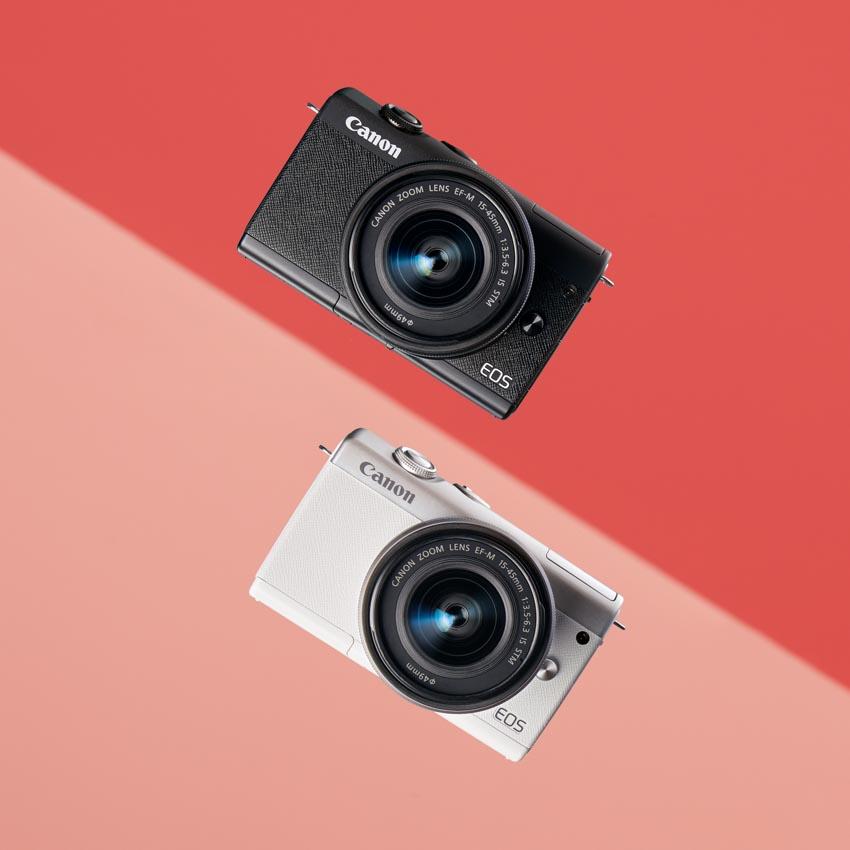 Canon trình làng máy ảnh dung ống kính chuyển đổi EOS M200 tại Việt Nam -4