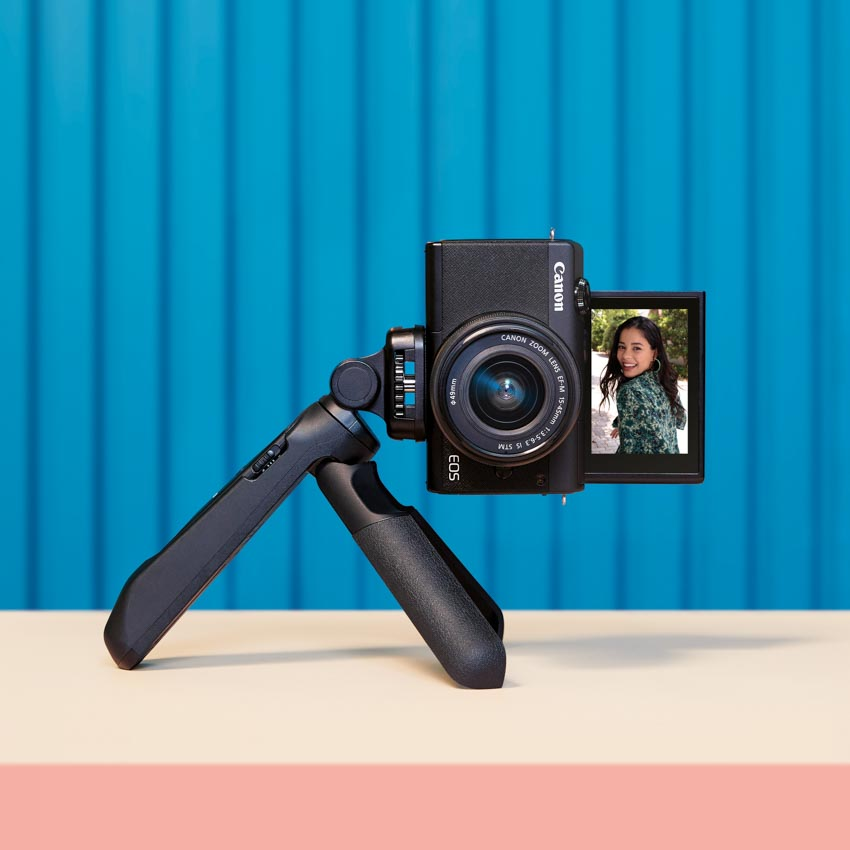 Canon trình làng máy ảnh dung ống kính chuyển đổi EOS M200 tại Việt Nam -5